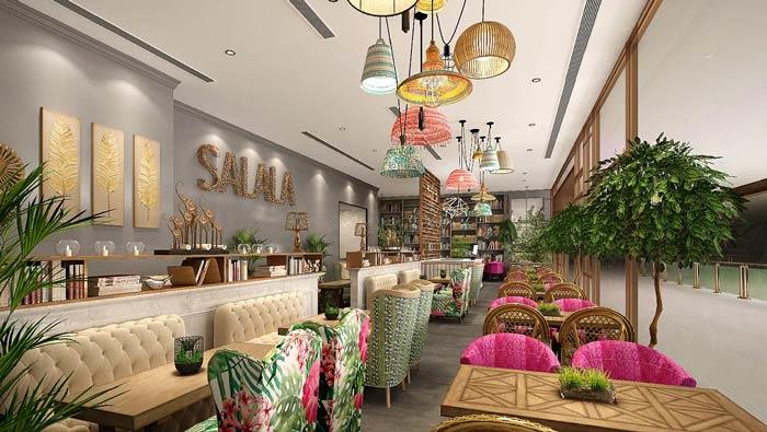东南亚主题餐厅装修设计